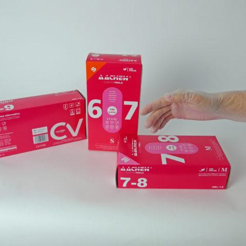 vinyl gloves powdered or powder free