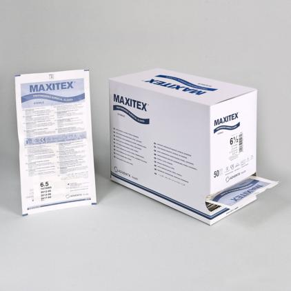 Latex surgical gloves MAXITEX