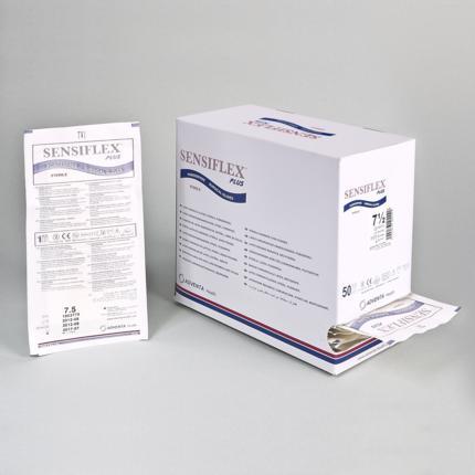 Latex surgical gloves SENSIFLEX