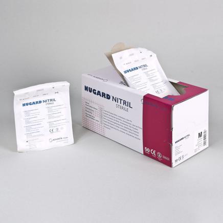 Nitrile sterile examination gloves - Nugard