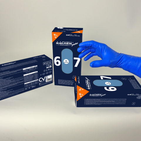 strong nitrile gloves aachenprotec