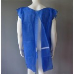 Back closure isolation gown