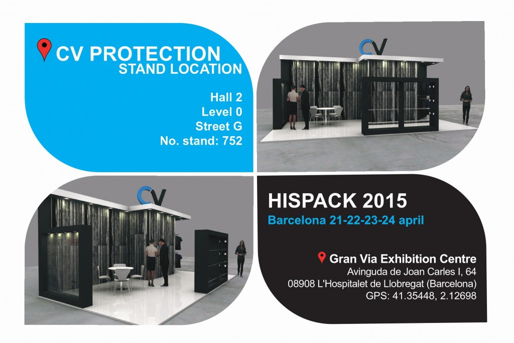 CV Protection stand Hispack