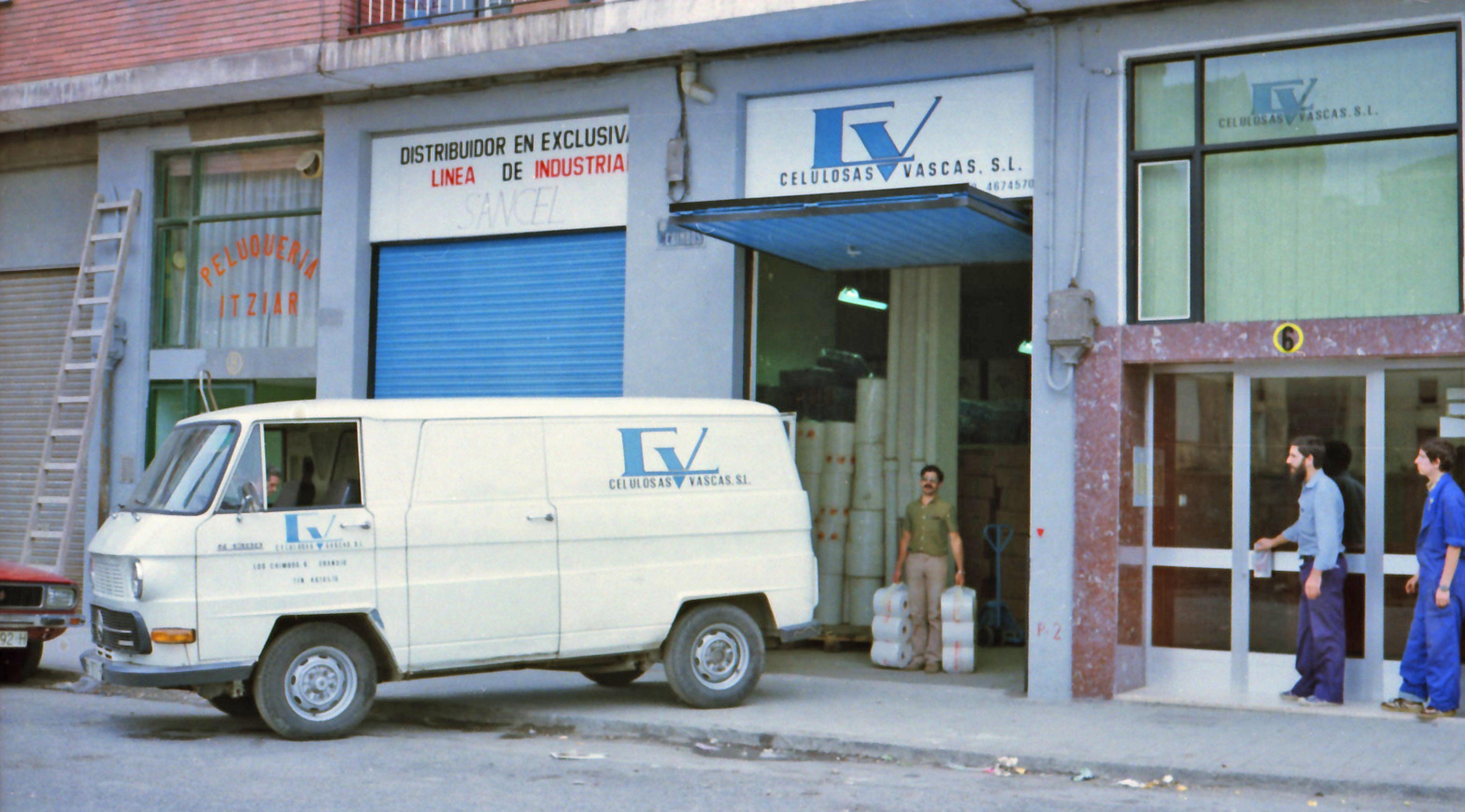 Former headquarters of cv protection in Erandio